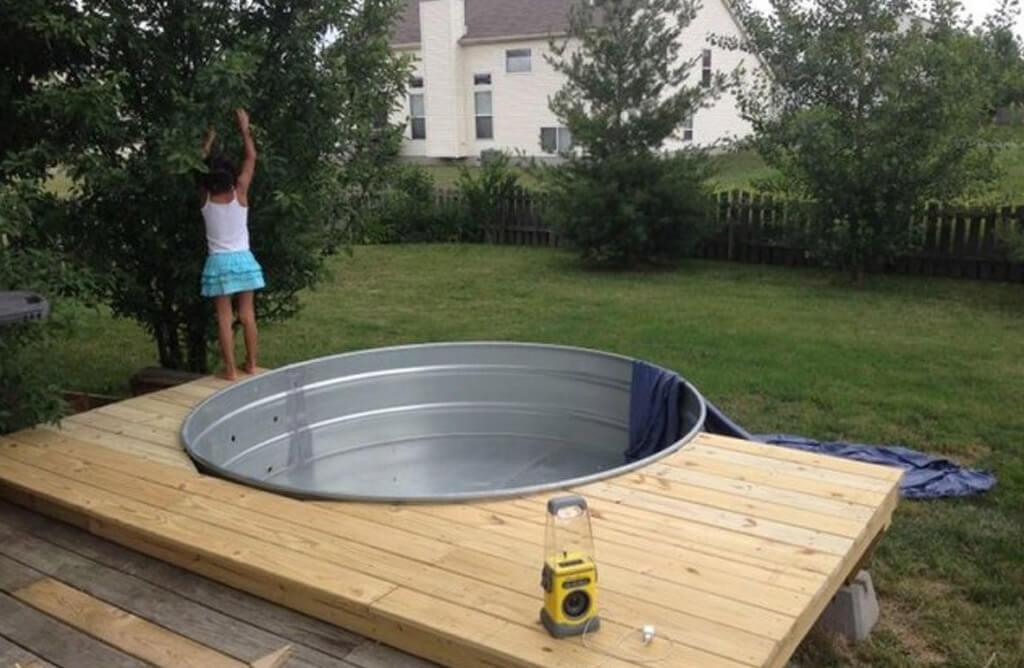 Abreuvoir piscine
